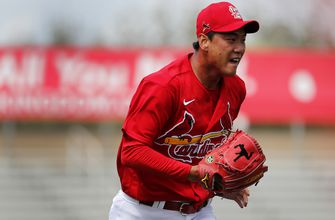 Photo of Cardinals' Kim makes a statement in first Grapefruit League start
