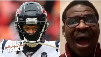 Photo of Michael Irvin goes off on the Texans for trading DeAndre Hopkins: 'Are you joking?!' | First Take