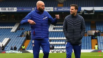 Photo of Cesc Fabregas stuns Willy Caballero after losing Range Rover bet