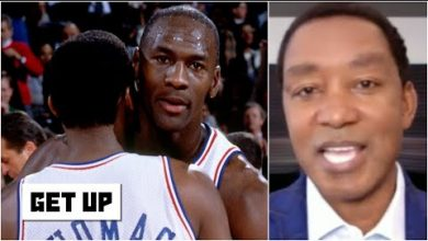 Photo of Isiah Thomas hopes feud with Bulls wasn't the reason he was left off Dream Team | Get Up