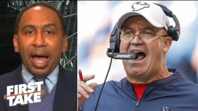 Photo of Stephen A.: Bill O'Brien shouldn't be running football operations for the Texans | First Take