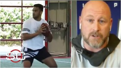 Photo of Trent Dilfer says Tua Tagovailoa moves better than before his injury | SportsCenter