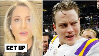 Photo of Laura Rutledge isn't holding Joe Burrow's transfer from Ohio State against him | Get Up