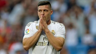 Photo of Real Madrid's Luka Jovic called to testify over coronavirus quarantine breach