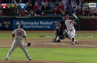 Photo of WATCH: Mike Napoli Drives in Two Runs in 8th inning of World Series Game 5   Rangers CLASSICS