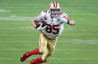 Photo of George Kittle dishes on 49ers off-season moves, success as a late-round pick with Jay Glazer