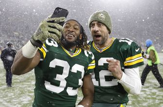Photo of Packers' Jones says his contract status won't distract him