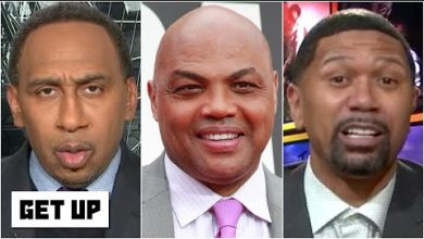 Photo of Stephen A. and Jalen Rose react to Charles Barkley saying MJ had 'selective prosecution'   Get Up
