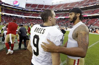 Photo of Saints' Brees takes first step toward mending relationships