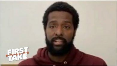 Photo of Bakari Sellers on Roger Goodell addressing the NFL's role in fighting racial injustice | First Take