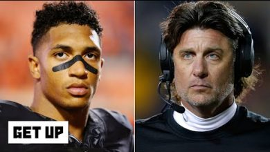 Photo of Oklahoma State's Mike Gundy 'making some changes' after players speak out about OAN shirt   Get Up