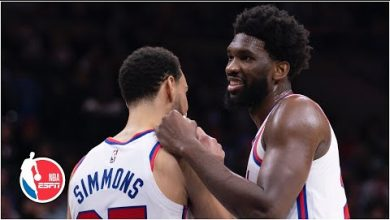 Photo of Joel Embiid excited about Ben Simmons playing PF, shares NBA bubble experience | NBA on ESPN