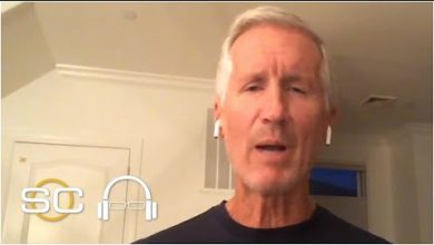 Photo of Mike Breen excited to be a part of NBA's return in Orlando   SC with SVP