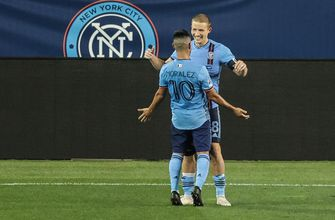 Photo of NYC FC second-half breakthrough helps them down Chicago Fire, 3-1