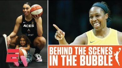 Photo of Villas, motherhood and social justice: WNBA stars take you behind the scenes in the bubble | espnW