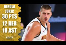 Photo of Nikola Jokic posts triple-double for Nuggets against the Thunder | 2019-20 NBA Highlights