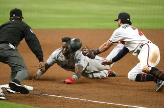 Photo of Marlins' rally comes up short in 9th in series-opening loss to Atlanta