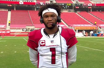 Photo of Kyler Murray on Cardinals 'handling business' and executing in win against 49ers