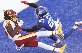 Photo of Cam Sims scores first NFL touchdown but Washington can't convert 2-pt conversion, lose to Giants 20-19