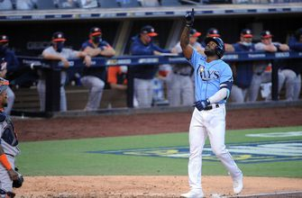 Photo of Rays' Randy Arozarena stays red hot, clubs game-tying homer vs. Astros
