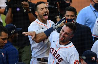 Photo of Carlos Correa walks it off, Astros one step closer to erasing 3-0 deficit: How it went down