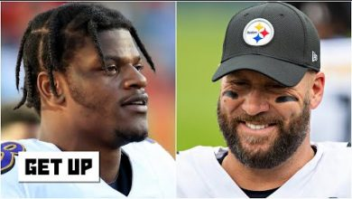 Photo of Lamar Jackson will face Ben Roethlisberger for the 1st time in Week 8 | Get Up