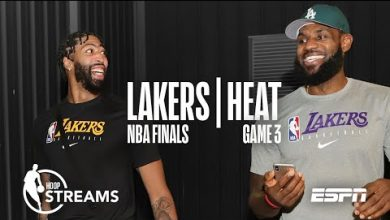 Photo of Lebron and AD: a dynamic duo | NBA Finals | Hoop Streams