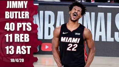Photo of Jimmy Butler leads Heat with 40-point triple-double [GAME 3 HIGHLIGHTS] | 2020 NBA Finals