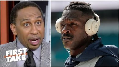 Photo of 'Antonio Brown is a grown man!' – Stephen A. isn't holding Tom Brady accountable for AB | First Take