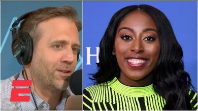 Photo of Max Kellerman & Chiney Ogwumike highlight the lack of WNBA representation in sneakers & apparel