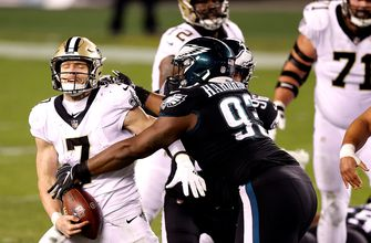 Photo of Eagles sack, strip Taysom Hill on critical fourth down to ice huge 24-21 win
