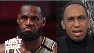Photo of Stephen A. reacts to LeBron saying 2 of his titles are the hardest-won in NBA history | First Take