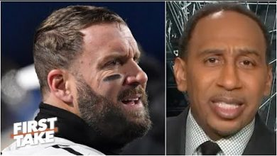 Photo of Steelers fan Stephen A. has completely lost faith in his squad | First Take