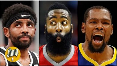 Photo of Who takes the last shot for the Nets: Kevin Durant, James Harden or Kyrie Irving? | The Jump