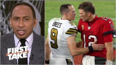 Photo of What's at stake in the Brady vs. Brees playoff game?   First Take