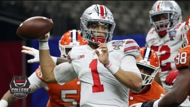 Photo of Ohio State's Justin Fields throws 6 TDs in Sugar Bowl [HIGHLIGHTS] | College Football Playoff