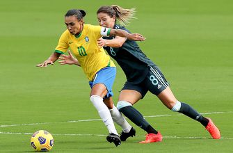 Photo of Brazil opens up 2021 She Believes Cup with a 4-1 win over rival Argentina