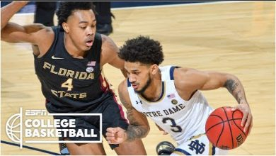 Photo of Prentice Hubb leads Notre Dame to upset win vs. No. 11 Florida State [HIGHLIGHTS] | ESPN