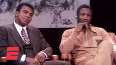 Photo of When Muhammad Ali and Joe Frazier got into a fight in a TV studio | Boxing on ESPN