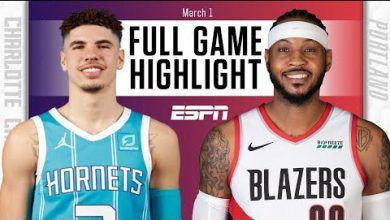 Photo of Melo vs. Melo: LaMelo Ball, Carmelo Anthony duel in Hornets vs. Blazers [HIGHLIGHTS] | NBA on ESPN