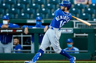 Photo of Guzman, Witt Jr. guide Royals to 5-3 comeback win over Reds