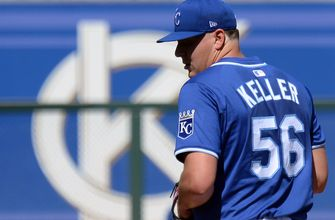 Photo of Keller makes solid spring debut in Royals' 7-5 loss to Dodgers