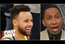 Photo of Stephen A. calls Steph Curry the greatest offensive weapon in the NBA | First Take