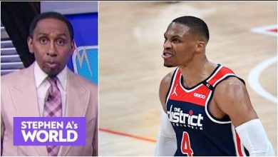 Photo of Stephen A reacts to a fan asking him if Russell Westbrook should join the Knicks | Stephen A's World