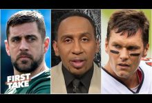 Photo of Stephen A. reveals why Tom Brady has put an immense amount of pressure on Aaron Rodgers | First Take