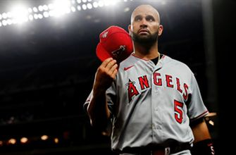 Photo of Albert Pujols signing with Dodgers — Cespedes Family BBQ guys break it down