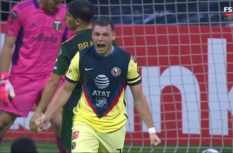 Photo of Club America takes early 1-0 lead over Timbers as Federico Vinas delivers a strike