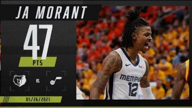 Photo of Ja Morant goes off for 47 points in Game 2 vs. Utah Jazz | 2021 NBA Playoffs