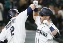 Photo of Mariners beat Twins, 4-3, thanks to Jake Bauers' go-ahead homer in the eighth