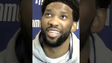 Photo of 'That was crazy!' Kawhi Leonard's dunk interrupts Joel Embiid's news conference #Shorts